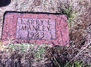 Alden cemtery 259 Larry Manley 1933