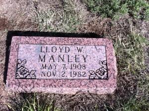 Alden cemtery 260 Lloyd W. Manley